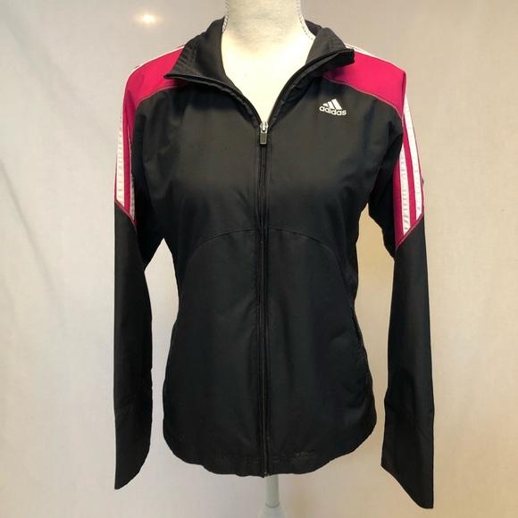 Adidas zip up Jacket size small track jacket